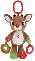 Rudolph The Red Nosed Reindeer, Plush Musical Light Up Activity Toy