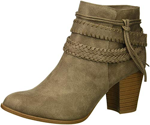 Fergalicious Women's Capital Ankle Boot, doe, 7.5 M US
