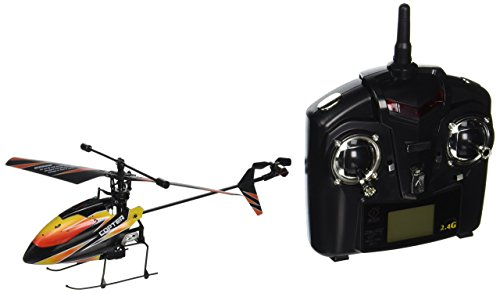 New WL V911 4 CH Single Rotor Helicopter Version 2New & Improved Black