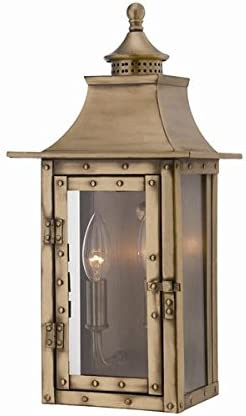 Acclaim 8302AB St. Charles Collection 2-Light Wall Mount Outdoor Light Fixture
