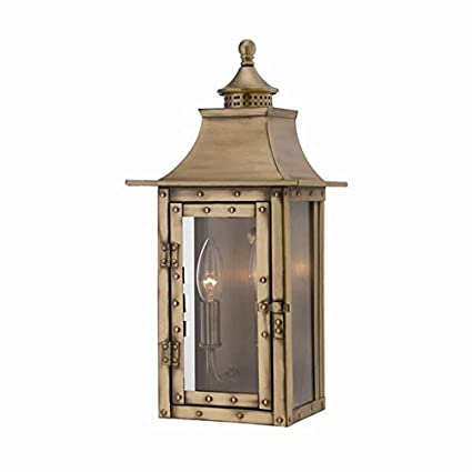brass outdoor light fixtures new acclaim 8302ab st charles collection 2light wall mount outdoor light fixture aged