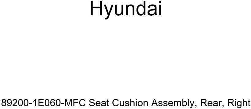 Rear Genuine Hyundai 89200-1E060-MFC Seat Cushion Assembly Right