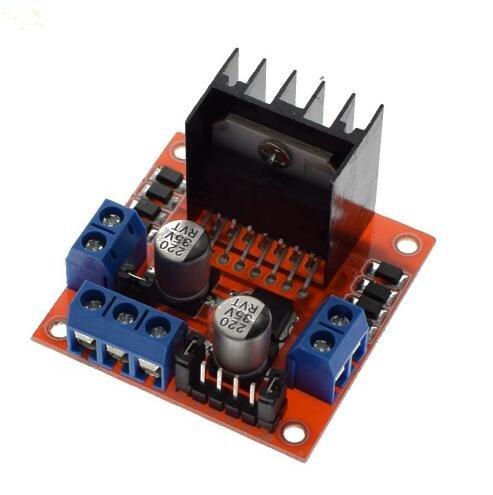 L298N motor driver board module L298 for arduino stepper motor smart car robot 10pcs by Swiftflying (Image #2)