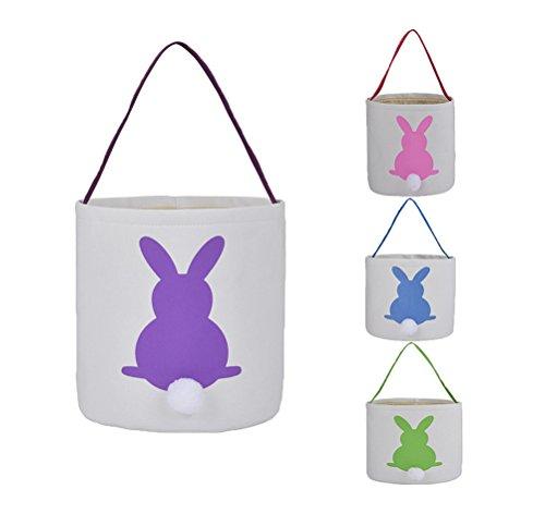 Easter Basket for Kids Easter Bunny Bag Easter Decorations -