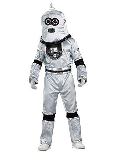 (Forum Novelties Men's Standard Robot Costume, Teenz, Silver,)