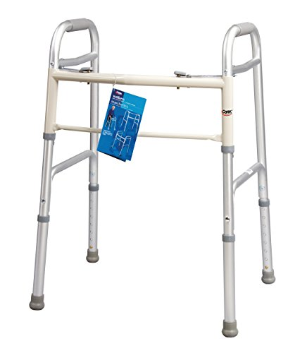Carex Health Brands Dual-Button Walker, Youth by Carex Health Brands