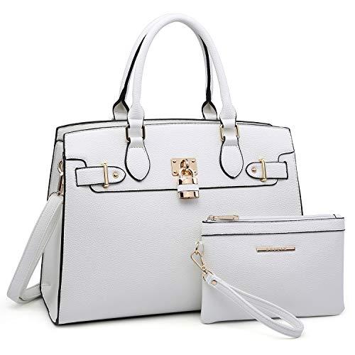 White Designer Handbags - 5