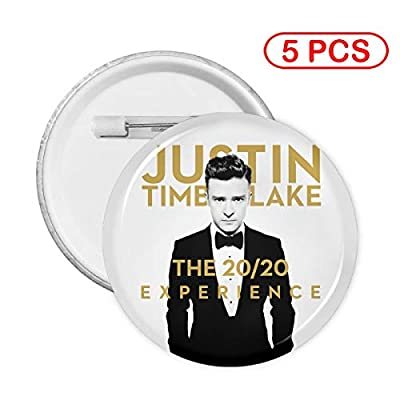 Justin Timberlake Round Badges Round Button Pin 5 Sets