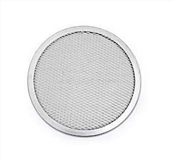 New Star Foodservice 50042 Pizza Baking Screen, Seamless, Commercial Grade, Aluminum, 16 inch, Pack of 12