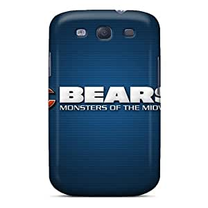 Awesome HvM6059tiAW Franiry79c24 Defender Tpu Hard Cases Covers For Galaxy S3- Chicago Bears
