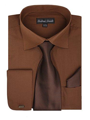 dress shirts with brown pants - 9