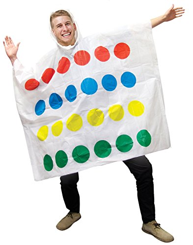 Twister Costume Men (Paladone Twister Poncho)