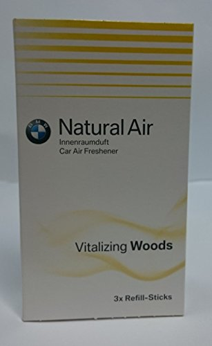 BMW Natural Air Refill Sticks / Vitalizing (Bmw Wood)