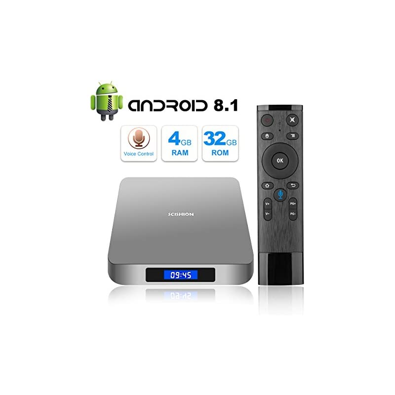A95X PRO 2018 Media Player Google Android 7 1 TV Box Amlogic Quad