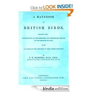 A Handbook of British Birds James Edmund Harting