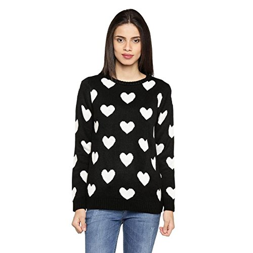 8ece4a621 Honey by Pantaloons Women s Round Neck Sweater  Amazon.in  Clothing ...