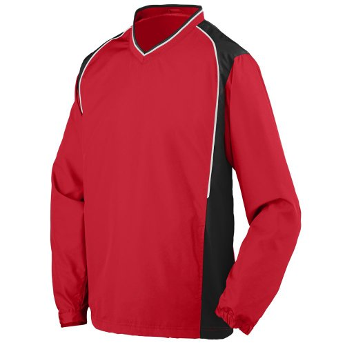 STYLE 3745 ROAR PULLOVER JACKET (2XLARGE, RED BLACK WHITE)