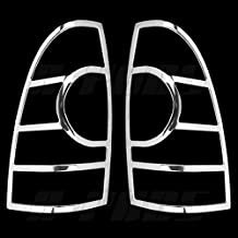 A-PADS 2 Chrome Tail Light Covers For 2005 2006 2007 Toyota TACOMA - Rear Back Lights Cover Pair Taillight
