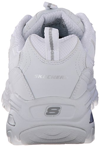 Skechers D'lites Me silver Trainers Womens Time White 141gSnr
