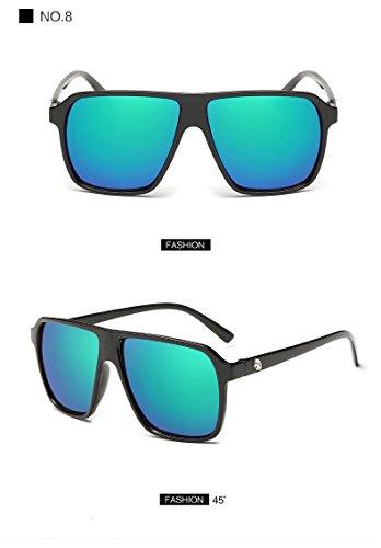 8 Limotai Gafas De Para De Hombres De Sol Y Sobredimensionado Masculinas Sollos Gafas Gafas Sol Espejo De Sol Hombres Femeninas 8 Gafas Fotocromáticos Hombre rwTr6g