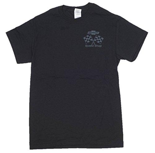 Gildan Men's Chevrolet Speed Shop Pin-up Girl T-Shirt