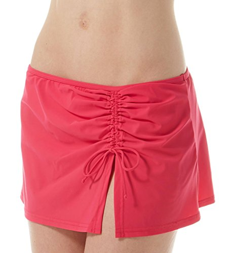 Profile by Gottex Women's Skirted Hipster Bikini Bottom Raspberry 8