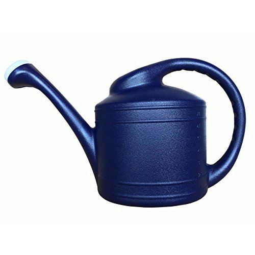 (allen + roth 2-Gallon Watering Can 2-Gallon Navy Blue Plastic Classic Watering Can)
