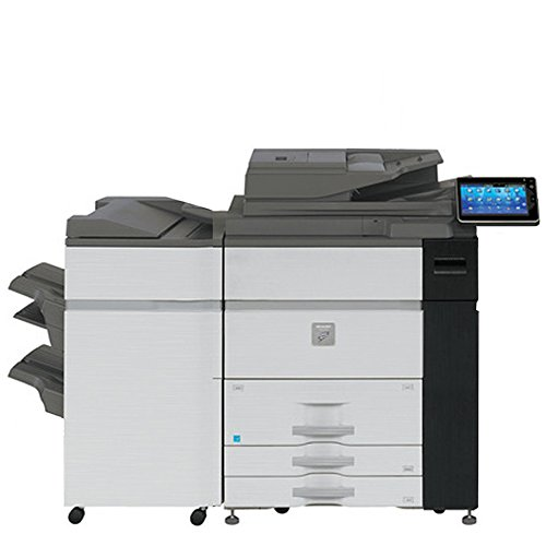 Speed Monochrome Laser Production Printer - 120ppm, Copy, Print, Scan, FN21 Stapling Finisher, 2 Trays, High Capacity Tandem Tray ()