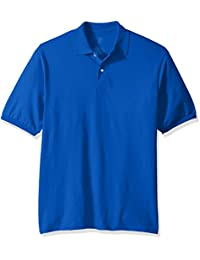 Men's Spot Shield Short Sleeve Polo Sport Shirt