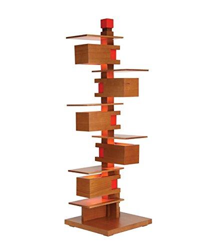 Frank Lloyd Wright - Taliesin 3 Table Lamp - Cherry Wood - Wright Light 3 Pendant