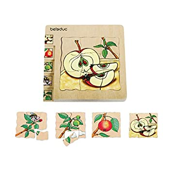 Beleduc Layer Puzzle - Apple