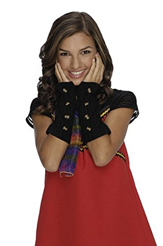 Alex Wizards Of Waverly Place Costumes (Wizards of Waverly Place Alex Black Arm Warmers)
