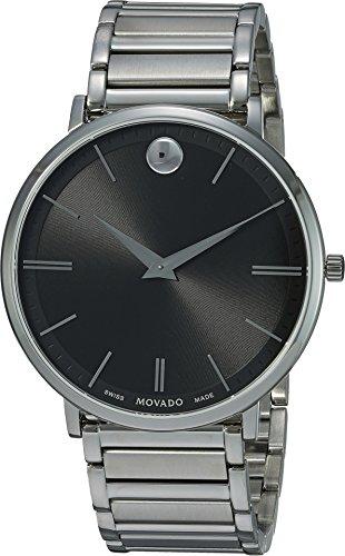 Slim - 0607167 Black One Size (Movado Sapphire Watch)