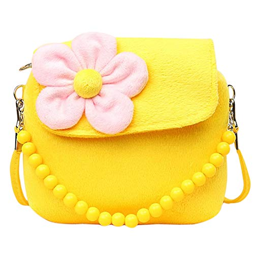 486de1acdd94 Ruikey Artificial Velvet Portable Crossbody Bag Children Messenger Coin  Purse Hand Bag Cute Princess Bag for Baby Kids Girls - Buy Online in Oman.