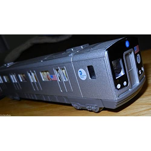 NYC New York City MTA R160 Diecast Subway Car HO Scale Mint