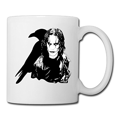 PUHO The Crow Fantasy Revenge Story Coffee Cups / Mug (Eric Draven Costume)