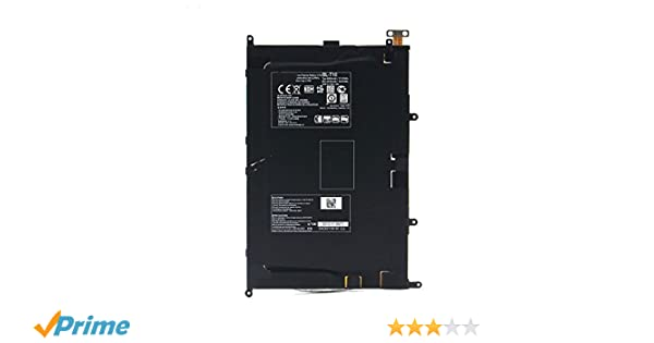Amazon.com: Batterymarket 3.75V 4600mAh Replacement Battery BL-T10 Compatible with LG G PAD 8.3in Tablet V500 Series 30Days Money retum Guarantee: Computers ...