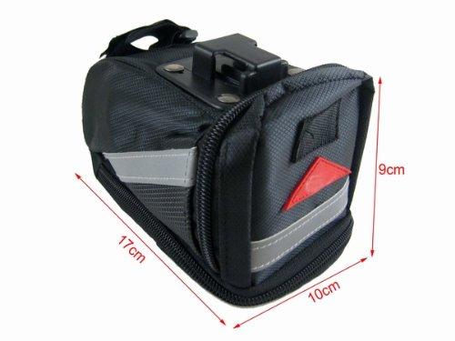 Adams Backpack (Adam McZ (TM) Bike Saddle Bag / Seat Bag with Buckle (Medium))