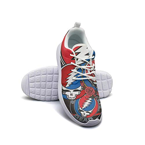fb613971acb1 Young Women Grateful-aesthetic-Dead-solo-th-Anniversary- Tennis Shoes for  Women Comfortable Asics Walking Shoes