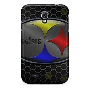 Scratch Resistant Cell-phone Hard Covers For Samsung Galaxy S4 With Customized Beautiful Pittsburgh Steelers Pattern JonathanMaedel