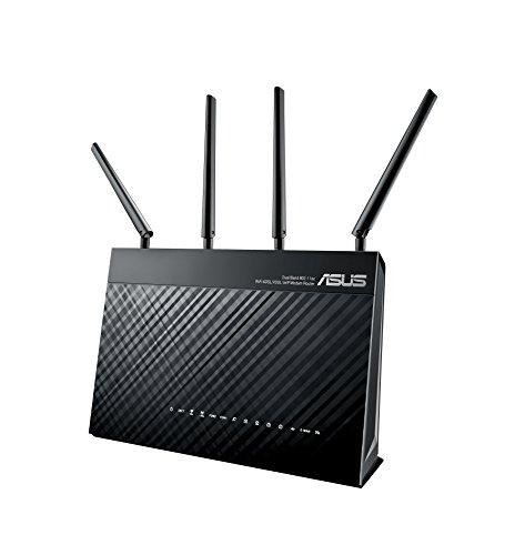 Asus DSL-AC87VG AC2400 VOIP Modem-Router (TAE-Ports, Anrufbeantworter, ac-WLAN, Gigabit LAN, 1x USB 3.0)