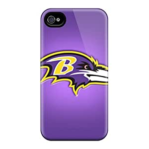 Protector Cell-phone Hard Cover For Iphone 6plus With Allow Personal Design Nice Baltimore Ravens Series AaronBlanchette