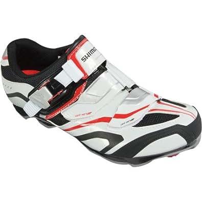 Zapatillas Shimano SH-XC60 blanco/negro/rojo Talla 46 2013