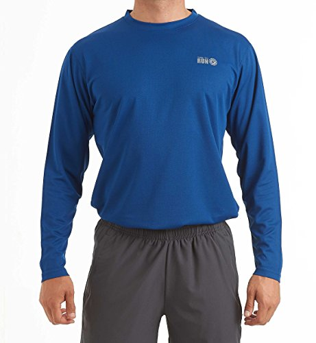 time to run Men's Favourite Long Sleeve Wicking Running/Gym/Workout T Shirt Top XL 45