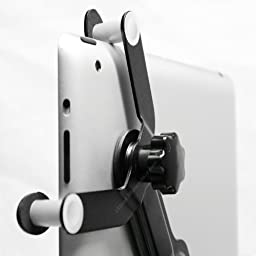 iShot Pro G7 Pro Universal Tablet Tripod Mount Adapter Holder Bracket Works with Most Cases & Sleeves Even Thick Otter Box Cases