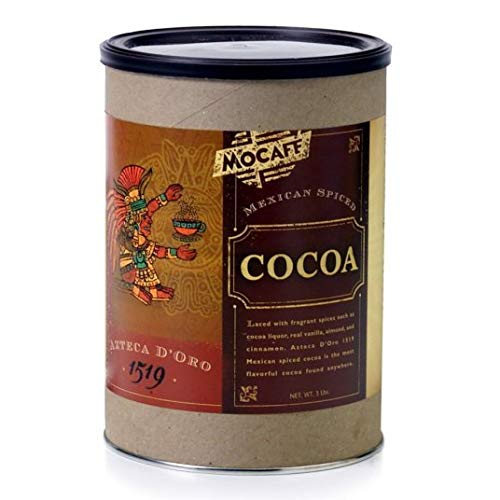 Mocafe Azteca D Oro Mexican Spiced Chocolate Cocoa, 3 Pound Can -- 4 per case.