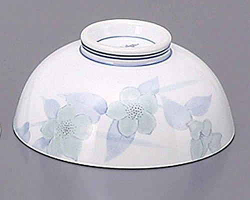 Sagano 4.5inch Set of 5 RICE-BOWLs White porcelain Made in Japan