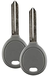 Discount Keyless Pair of Replacement 4D 64 Texas Encrypted Y160-PT Transponder Keys Compatible with Chrysler, Dodge, and Jeep Vehicles
