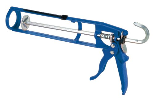 Skeleton Caulking Gun - COX 21001 Wexford II 10.3-Ounce Cartridge Manual Skeleton Fiberglass Caulk Gun