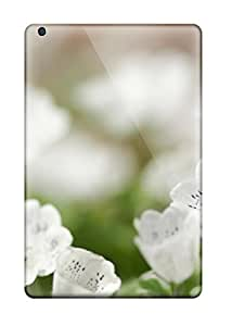 LDSBrZx1420AGxtN Tpu Case Skin Protector For Ipad Mini/mini 2 White Flowers With Nice Appearance